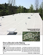 CCS installs almost 300 cool roof systems on San Dimas condos.